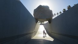 Levitated Mass - The Story of Michael Heizer's Monolithic Sculpture